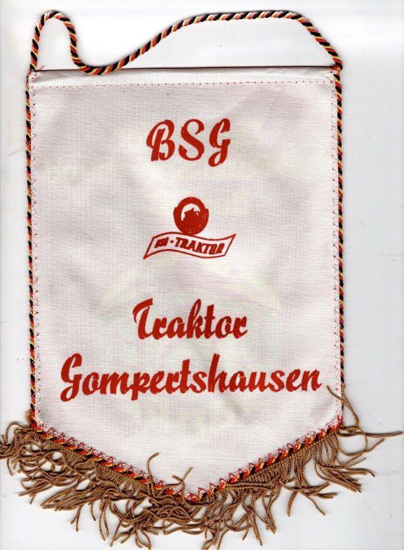 DDR Sport Wimpel Traktor Gomertshausen Kreis Hildburghausen DTSB Sportbund