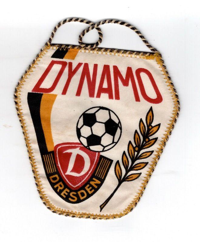DDR Sport Wimpel Dynamo Dresden Fussball Meister der DDR FDGB Pokalsieger