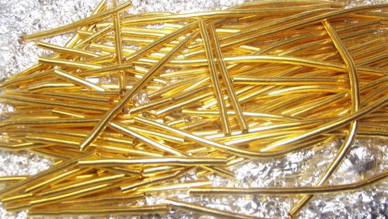 LEONISCHES GOLD BOUILLON GOLD LEONE GOLD BRAIDED WIRE GOLD PLATED
