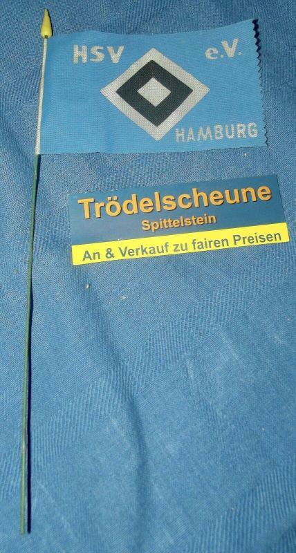 Kleine Kinder Fahrrad Fahne HSV Hamburg 70er Jahre