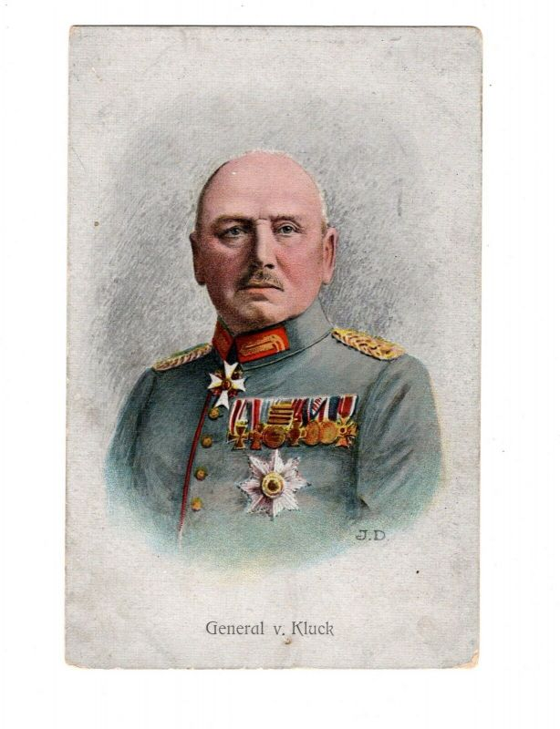 AK General der Artillerie von Klick mit Ordensspange
