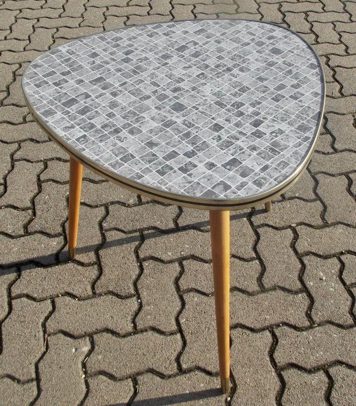 Nierentisch Tisch Rockabilly - Vintage  60s 70s
