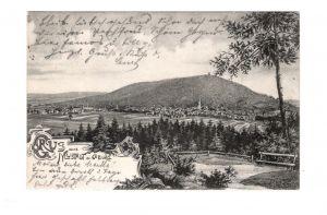 AK Oberfranken Neustadt bei Coburg 1906 Lithographie
