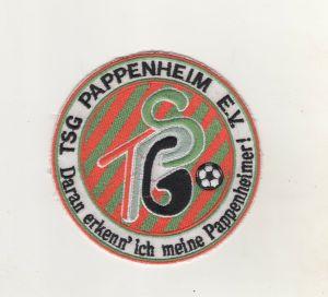 Stoff Aufnäher Patches TSG Pappenheim Fussball Verein