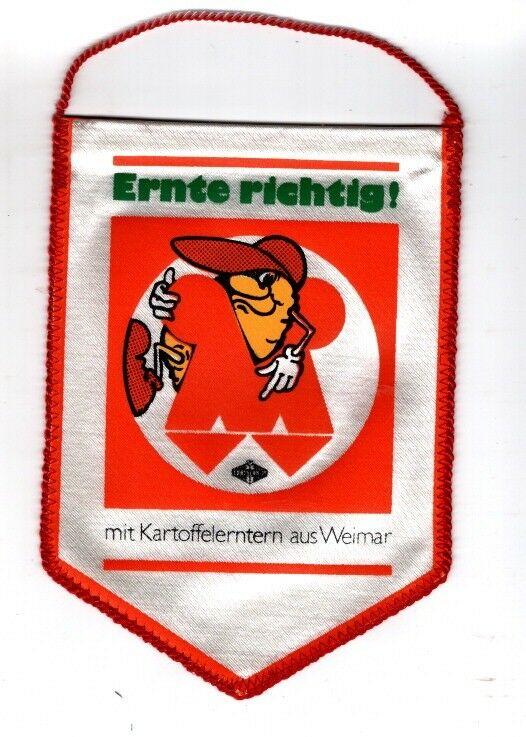 DDR Agrar und Landwirtschaft Fortschritt Weimar Ernte richtig Kartoffel Ernte
