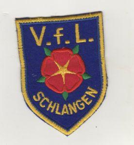 Aufnäher Patch VfL Schlangen Sportverein Fussball Handball Kreis Lippe