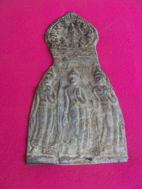 China 1900 Votivgabe Votivtafel Tempel Asien wohl Bronze