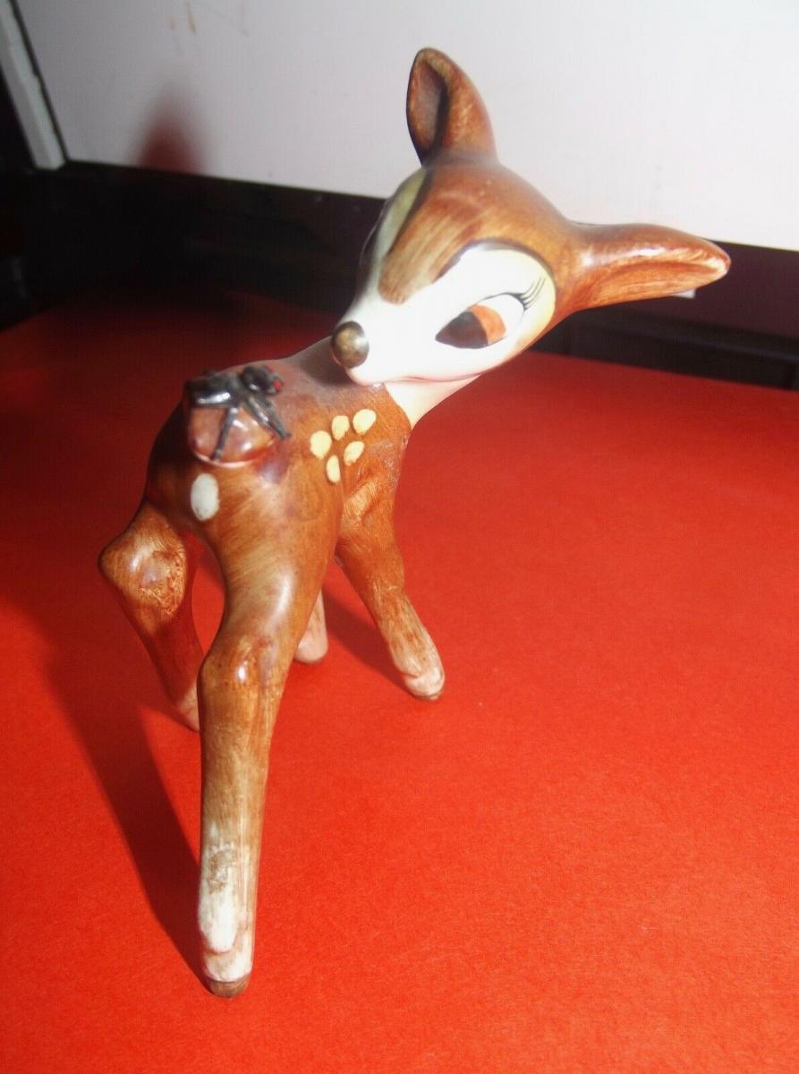 Goebel Rehkitz Reh Bambi Fliege am Schwanz