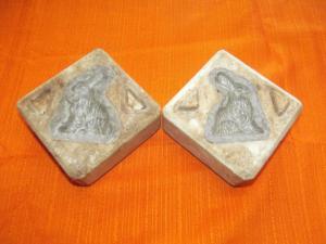 Antike Model Gussform Form Hase Spielzeug Christbaumschmuck