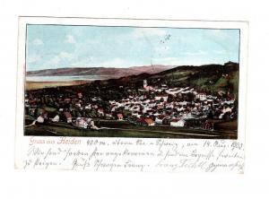 AK Schweiz Heiden AR im Kanton Appenzell 1903
