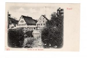 AK Baden Württemberg Nagold Landkreis Calw Partie an der Waldach