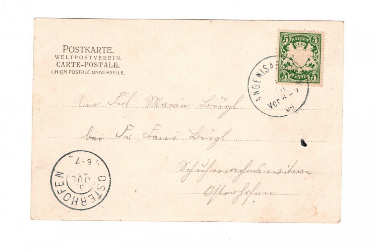 AK Niederbayern Moos Kreis Deggendorf Gräfliches Schloss 1900 1