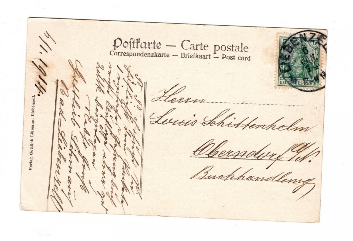 AK Baden Württemberg Liebenzell China Missionshaus Landkreis Calw 1914 1