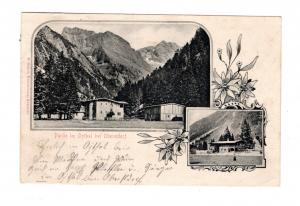 AK Schwaben Partie im Oythal bei Oberstdorf 1902
