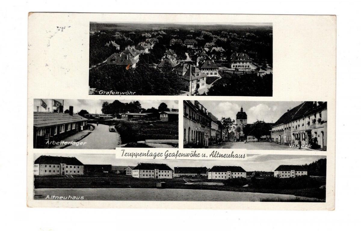 AK Oberpfalz Truppenlager Grafenwöhr Altneuhaus und Vilseck 0