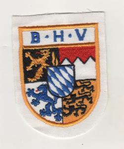 Aufnäher Patches B.H.V. Wappen des Königreichs Bayern,