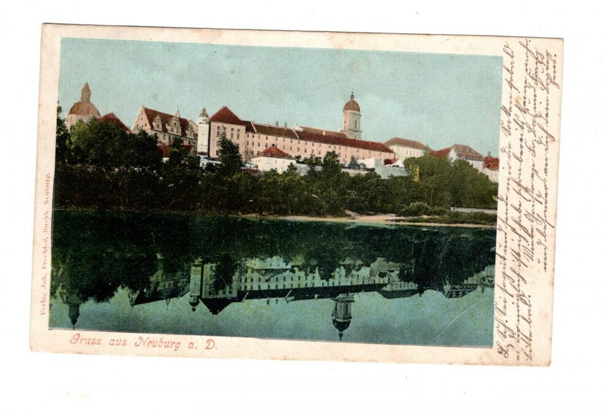 AK Oberbayern Neuburg an der Donau 1908 0