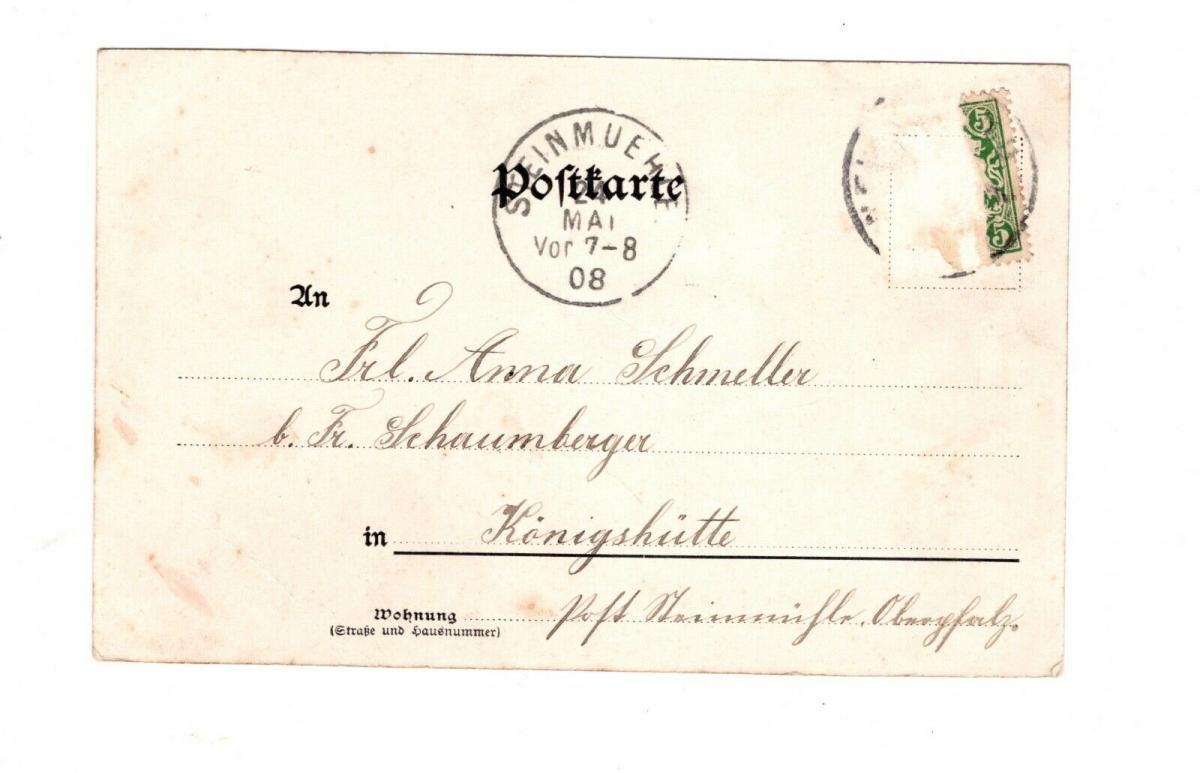 AK Oberbayern Neuburg an der Donau 1908 1
