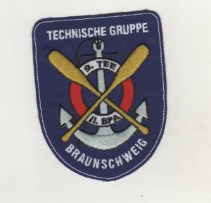 Uniform Aufnäher Patches 9. TEE Technische Gruppe Braunschweig