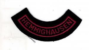 Feuerwehr Patch Hemminghausen Willingen Landkreis Waldeck Frankenberg Hessen