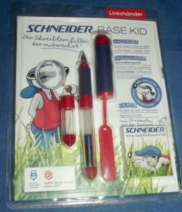 Schneider Base Kid Linkshänder Orange / Füllfederhalter - Pen OVP Design 2006