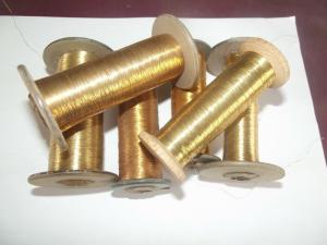 5 Antikes Goldgarn Garn Gold Gespinst für Trachten - Uniformen 561 Gramm