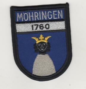 Aufnäher Patches Ärmelabzeichen Stadtkapelle Möhringen 1760 Stuttgart