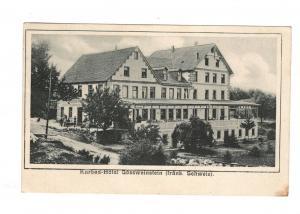 AK Oberfranken Kurbad Hotel Gössweinstein Fränkische Schweiz Kreis Forchheim