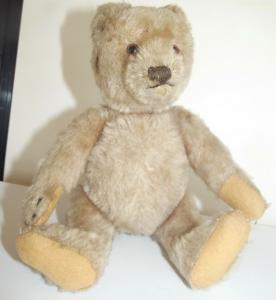 Antiker Teddybär wohl Steiff 20 cm