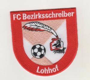 Stoff Aufnäher Patches 1 FC Bezirksschreiber Lohhof Unterschleissheim Fussball