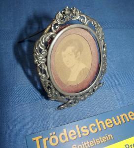 Historismus Bilderrahmen Stand Rahmen Messing Antik Romantisch Antiquität