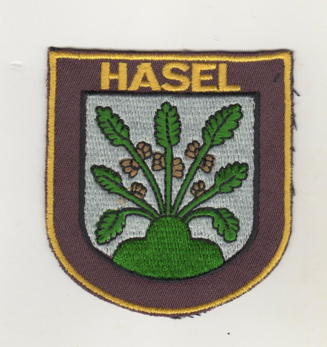 Aufnäher Patch Gemeinde Hasel (Baden) 0