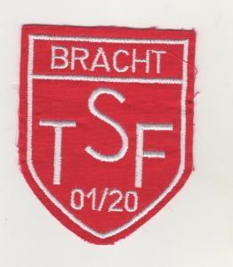 Stoff Aufnäher Patches TSF Bracht 01/20 Fussball Verein