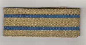 Borte Litze Tresse Gold Blau 90 cm x 40 mm für Theater Tracht Uniform Top
