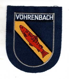 Baden-Württemberg Patch Vöhrenbach Stadt im Schwarzwald-Baar-Kreis