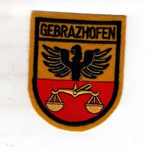 Baden-Württemberg Patch Gebratzhofen Kreisstadt Leutkirch im Allgäu.