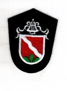 Uniform Patch Musikkapelle Wappen Lyra