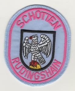 Aufnäher Patches Schotten - Rudingshain Feuerwehr