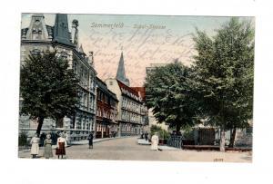 AK Lubsko Sommerfeld Neumark Bez. Frankfurt Oder Schul Strasse