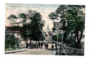AK Lubsko Sommerfeld Neumark Bez. Frankfurt Oder Partie am Kanal