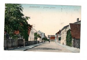 AK Lubsko Sommerfeld Neumark Bez. Frankfurt Oder Sorauer Strasse