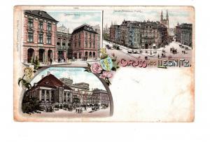 AK Polen Schlesien Liegnitz Legnica Lithographie