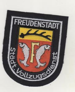 Original Behörden Aufnäher Patches Freudenstadt Städt.Vollzugsdienst Ordnungsamt