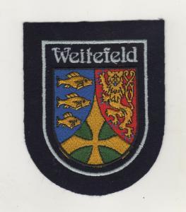 Aufnäher Patches Ärmelabzeichen Weitefeld Landkreis Altenkirchen Westerwald