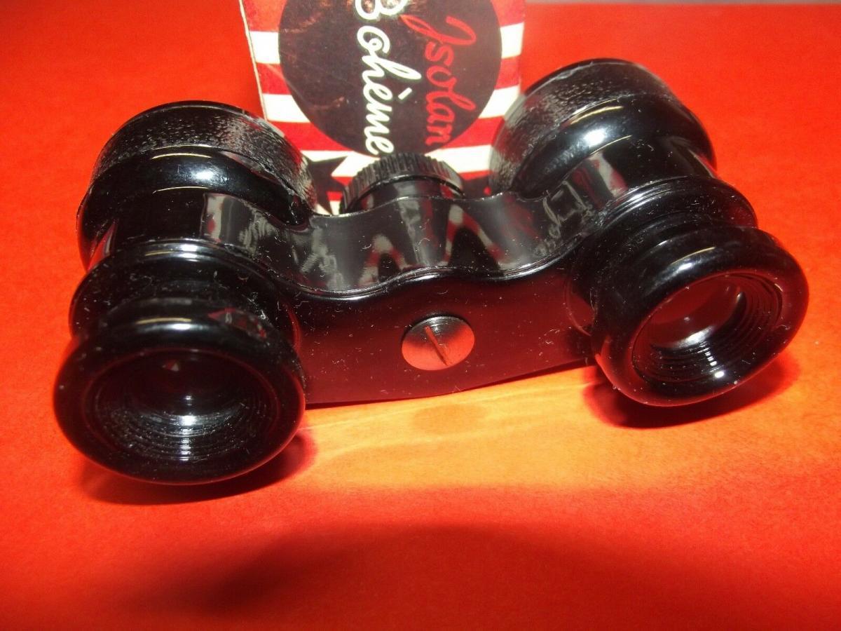 X -Kinder Fernglas 50er Jahre Spielzeug Jsolan Bohéme Made in Germany OVP 4