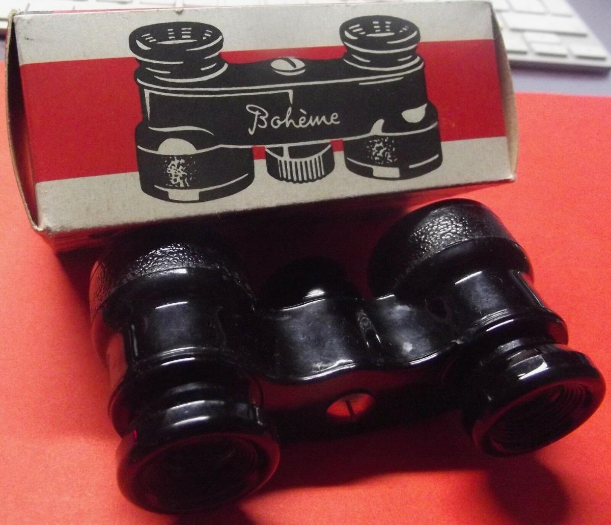 X -Kinder Fernglas 50er Jahre Spielzeug Jsolan Bohéme Made in Germany OVP 5