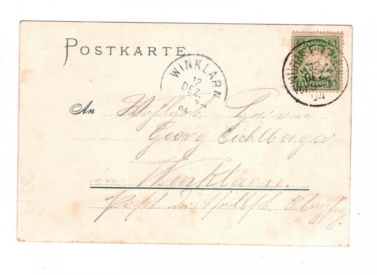 AK Mittelfranken Nürnberg Gaststätte Brauerei Tucher Bräustüberl 1904 1