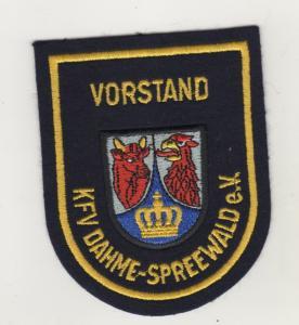 Uniform Aufnäher Patches Vorstand KFV Dahme Spreewald Kreisfeuerwehr Verband