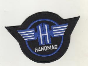 Original Aufnäher Patches LKW Hanomag