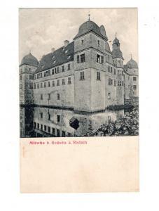 AK Oberfranken Mitwitz bei Redwitz an der Rodach Wasserschloss Kreis Kronach